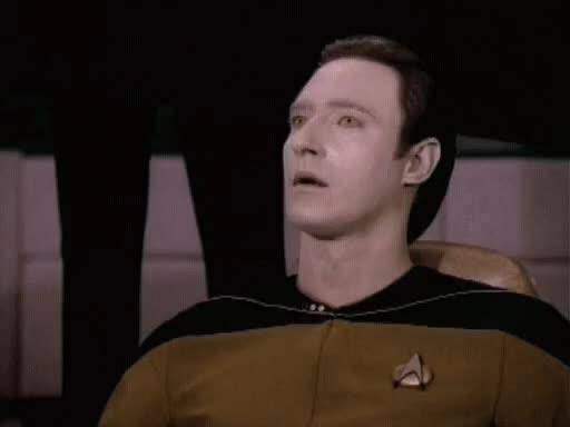 Watch this no GIF by Star Trek gifs (@star-trek-gifs) on Gfycat. Discover more brent spiner, data, no, reaction, reactions, star trek, the next generation, tng GIFs on Gfycat