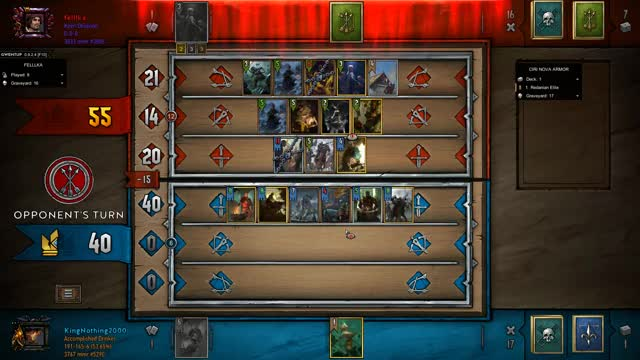 Watch All Deck GIF by KingNothing2000 (@kingnothing2000) on Gfycat. Discover more Gwent, Gwent Moments, Gwent: The Witcher Card Game, King, King Nothing, Moments, Nothing, Nothing but King Moments GIFs on Gfycat