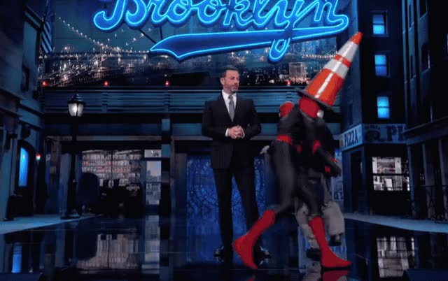 Watch and share Jimmy Kimmel GIFs and Spiderman GIFs on Gfycat