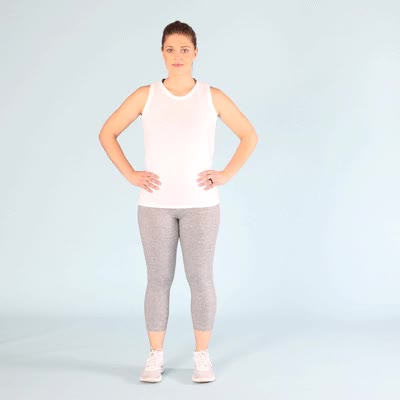 Watch and share 400x400-The Curtsy Squat GIFs by Healthline on Gfycat