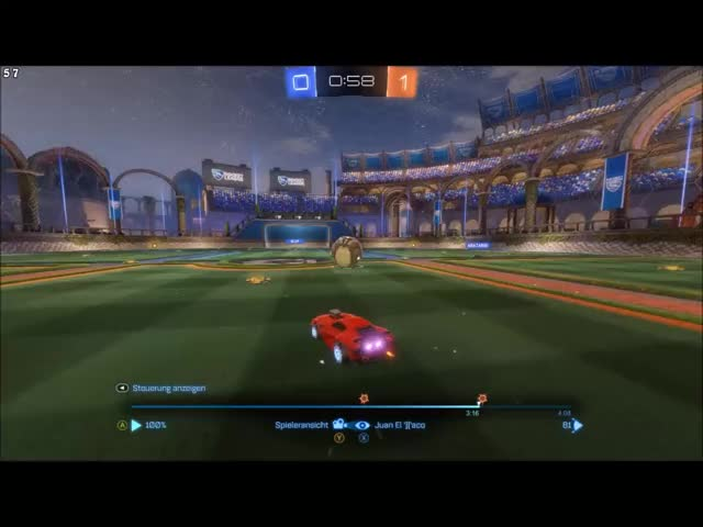 Watch and share Rocket League GIFs and Goal GIFs by frederic200 on Gfycat