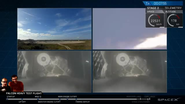 Watch Falcon Heavy - Double Booster Landing GIF on Gfycat. Discover more related GIFs on Gfycat