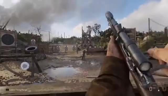Watch and share Call Of Duty WW2: Testing All The Weapons In The Firing Range - E3 2017 GIFs on Gfycat