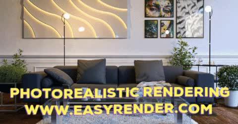 Watch Best Photorealistic Rendering By Easy Render GIF by Easy Render (@easyrenders) on Gfycat. Discover more 3d Rendering Software, Photorealistic Rendering, Visualizing Architecture, architectural rendering GIFs on Gfycat