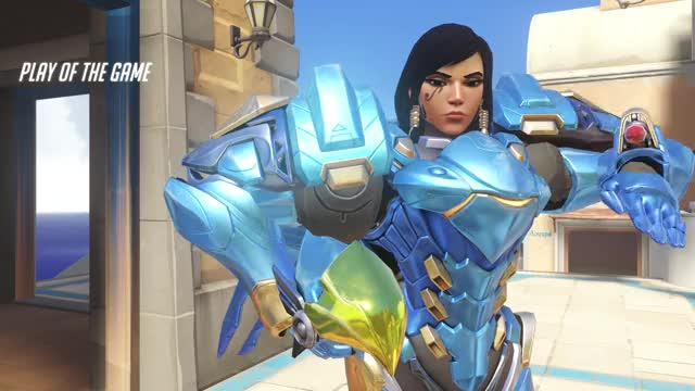 Watch play GIF by not bad (@wisp__) on Gfycat. Discover more overwatch, pharah, potg GIFs on Gfycat