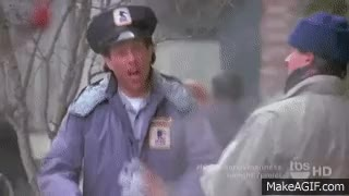 Watch and share Seinfeld Clip - Jerry The Mailman GIFs on Gfycat