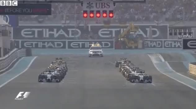 Watch Abu Dhabi GP Start (reddit) GIF by @mikejohnno on Gfycat. Discover more formula1gifs GIFs on Gfycat