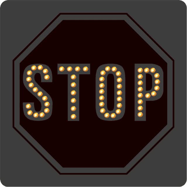 Watch and share Flashing Stop Sign Para Do animated stickers on Gfycat