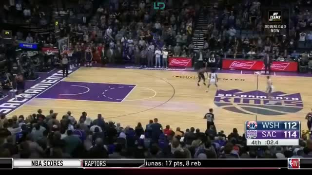 Watch Washington Wizards defeat Sacramento Kings 116-112, Nemanja Bjelica 26 Pts | NBA GameTime GIF by @kevinp223 on Gfycat. Discover more News Sport, People & Blogs, Sacramento Kings, basketball GIFs on Gfycat
