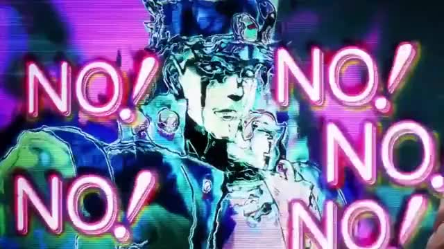 """Watch and share JJBA - Jotaro """"YES YES YES"""" GIFs by zhyeah on Gfycat"""