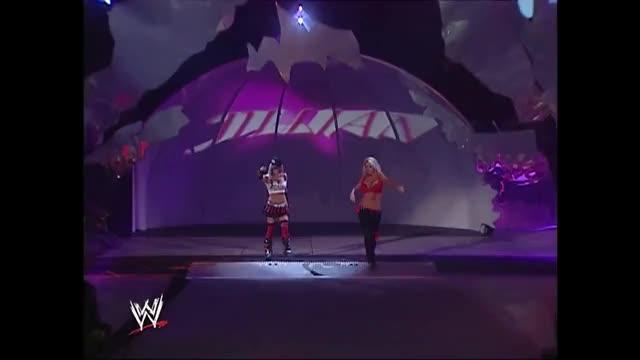 Watch and share WWE SmackDown July 28 2006, Jillian Hall Vs Michelle McCool GIFs on Gfycat