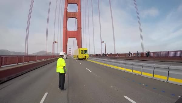 infrastructurist, specializedtools, Moving concrete barriers on the Golden Gate Bridge (reddit) GIFs