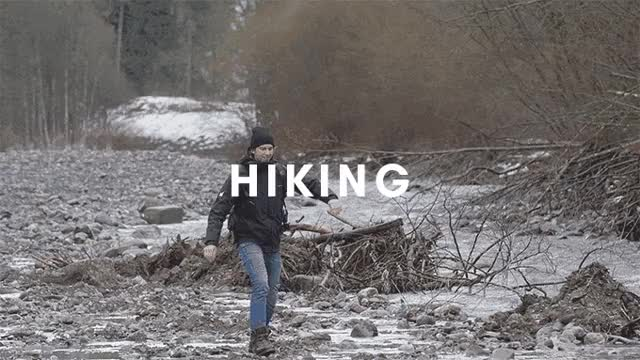 Watch and share Hiking GIFs and Skiing GIFs by ADAPT Network on Gfycat