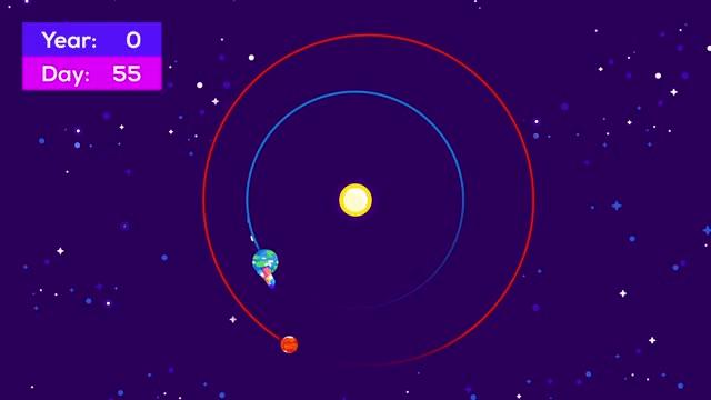 Watch Earth > Mars Orbit GIF on Gfycat. Discover more Deimos, Journey, Life on Mars, Mars, Mars Base, Mars Colonisation, Mars Dust, Mars Exploration, Mars Landing, Mars Mission, Martian, Moon, Moons, Phobos, Space, Temperature, Terraform, Terraforming, The Martian, Travel GIFs on Gfycat