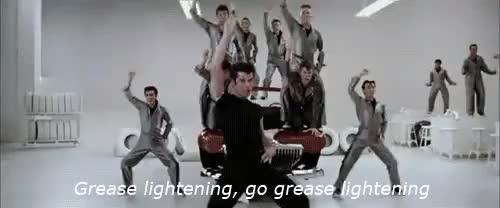 Watch and share Grease Lightening GIFs and Frustrated GIFs on Gfycat