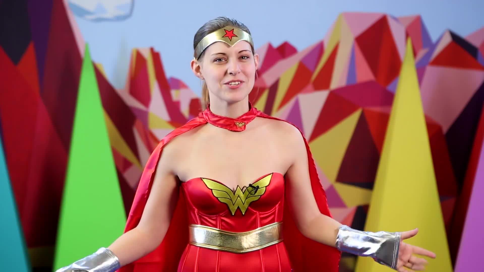 presshearttocontinue dodger, Dodger Wonder Woman GIFs