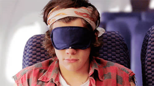 good morning, harry styles, hello, oh hello, rise and shine, sleep mask, Harry Styles Good Morning GIFs
