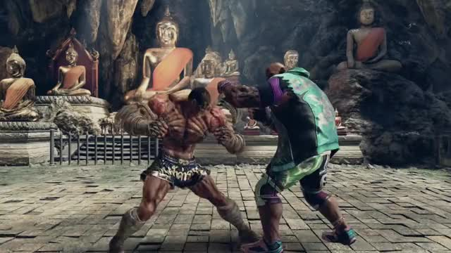 Watch and share Bandai Namco GIFs and Muay Thai GIFs by ruxxar on Gfycat