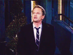 Barney Stinson, Cobie Smulders, Robin Scherbatsky, bouquet, flowers, himym, how i met your mother, neil patrick harris, HIMYM Bouquet GIFs