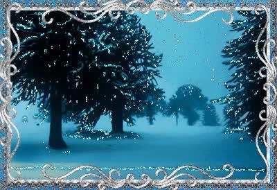 Watch and share Зимний Пейзаж С Сугробами И Елями, Серебрящимися От Снега, GIFs on Gfycat