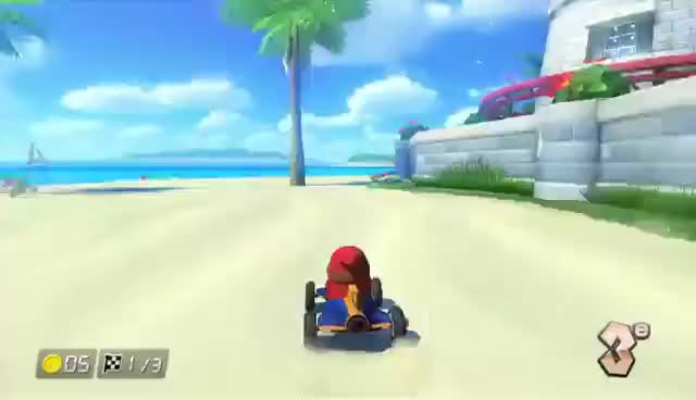 Watch and share Mk8 GIFs on Gfycat