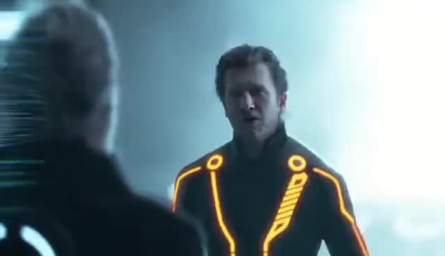 Watch and share TRON: Legacy - Kevin Flynn And Clu GIFs on Gfycat
