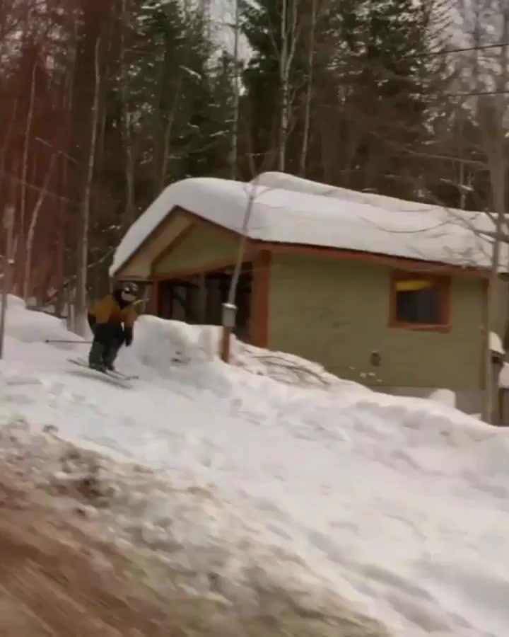 Neighborhood Skiing GIFs