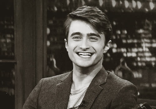 celebrities, celebrity, celebs, daniel radcliffe, laughing, Radcliffe GIFs