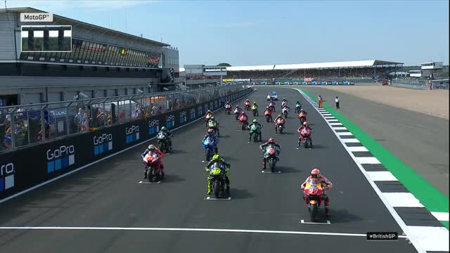 Watch and share MotoGP 2019 The Great Britain Fabio Crashes Dovi GIFs by Johnny Nguyen on Gfycat