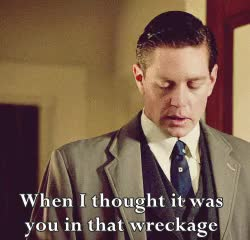 Watch and share Jack Robinson GIFs and Phryne Fisher GIFs on Gfycat