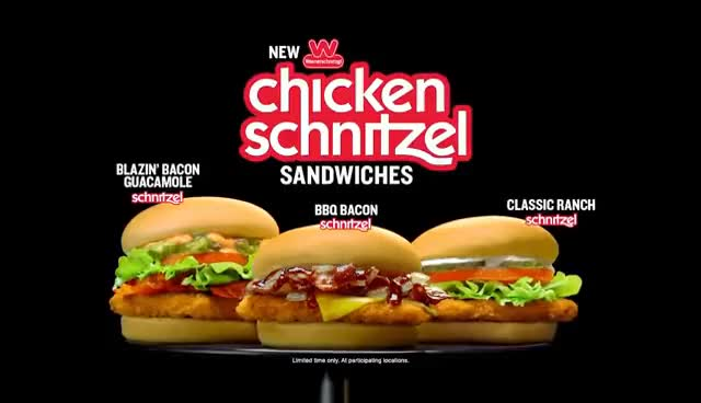 Watch and share The Schnitzel Has Arrived At Wienerschnitzel GIFs on Gfycat