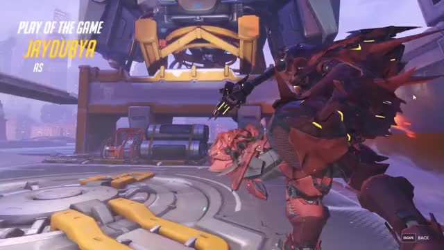 Watch and share Overwatch GIFs by thereal_blue on Gfycat