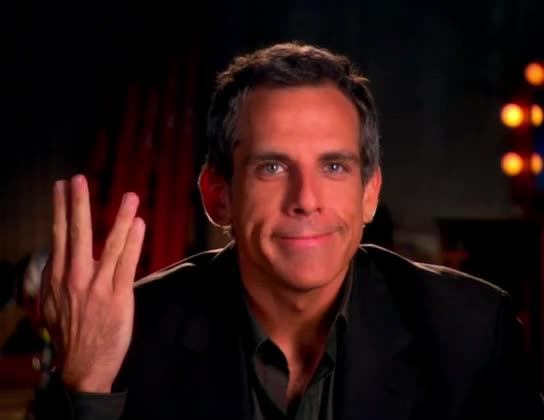 Watch and share Middle Finger GIFs and Ben Stiller GIFs by MikeyMo on Gfycat