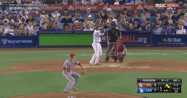 Watch and share Los Angeles Dodgers GIFs and Baseball GIFs on Gfycat