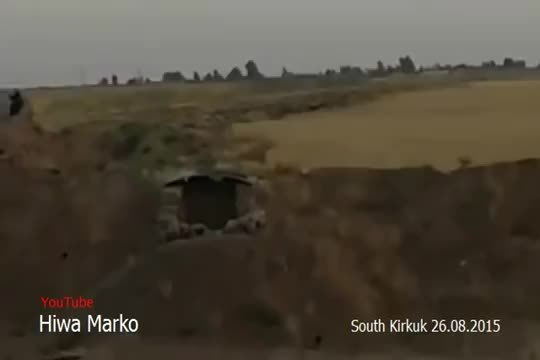 Airstrike, Military, militarygfys, US-led Coalition Airstrike Against ISIS Positions In Kirkuk GIFs