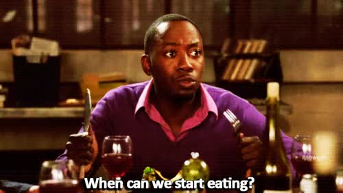 Watch and share Lamorne Morris GIFs and Delicious GIFs by Reactions on Gfycat