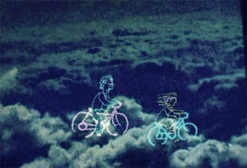 cycling, is the man who is tall happy?, michel gondry, tall man GIFs