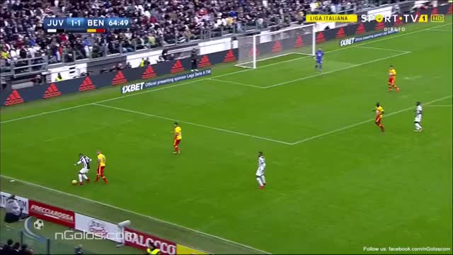 Watch and share (www.nGolos.com) Juventus [2]-1 Benevento - Cuadrado 66' GIFs on Gfycat