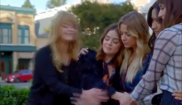 "Watch Pretty Little Liars - The Liars' Final Scene - 7x20 ""Til DeAth Do Us Part"" GIF on Gfycat. Discover more related GIFs on Gfycat"