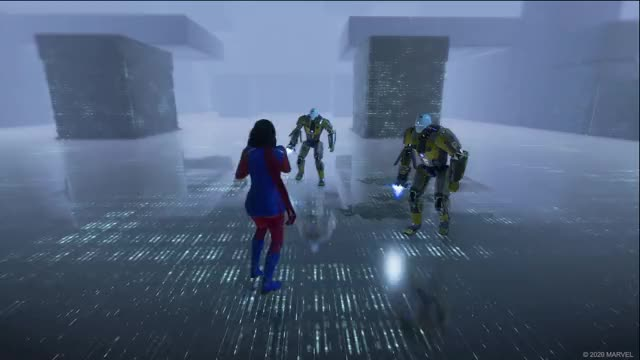 Watch and share Marvels Avengers GIFs and Ms Marvel GIFs by Square Enix on Gfycat