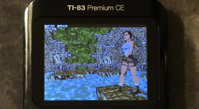 Watch and share Walking Lara Tomb Raider 3 Virtual3D TI-83 Premium CE GIFs by critor on Gfycat