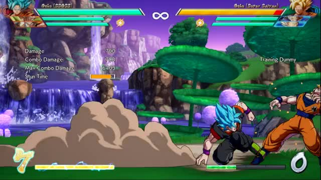 Watch Optimal 5M corner BnB 214L GIF by Jordan B (@jball_2k) on Gfycat. Discover more DBFZ, Goku Blue GIFs on Gfycat