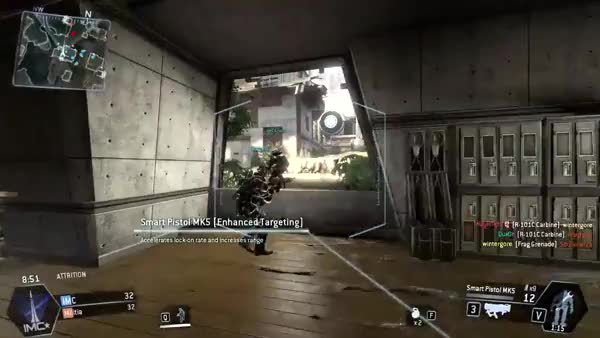 Titanfall Assassin Gameplay - Multiple Nadeshots, Titan Takedowns, Piggyback Kills & An Epic Ending (reddit)