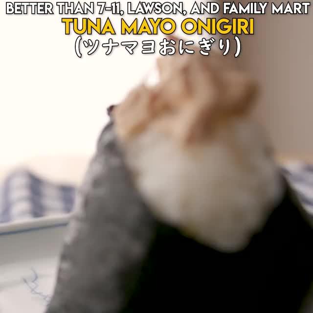 Watch and share Tuna Mayo Onigiri GIFs and Japanese Cooking GIFs by Straight Up Eats on Gfycat
