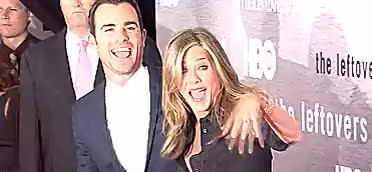 Watch and share Jennifer Aniston GIFs and Justin Theroux GIFs on Gfycat