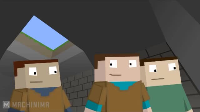 Watch Minecraft: The N00b Adventures - Here be Dragons GIF on Gfycat. Discover more Mushroom, Pickaxe, Spider, Wood, creeper, enderman, food, guide, here, hope, machinima, minecraft, mmorpg, noob, pick, playing, rpg, sandbox, stone, yt GIFs on Gfycat