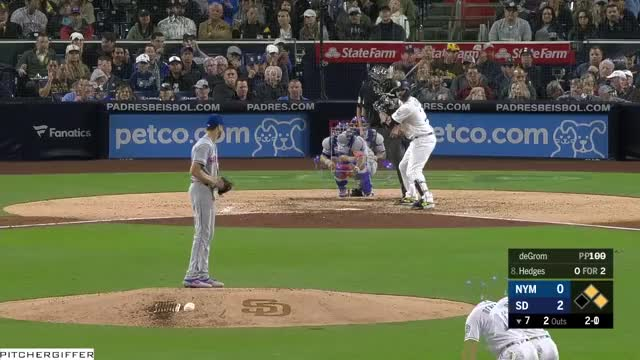 Watch and share San Diego Padres GIFs and New York Mets GIFs by Pitcher Giffer on Gfycat