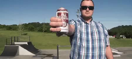Watch and share Passing Beer Throwing Skateboard Beer Half Pipe GIFs on Gfycat