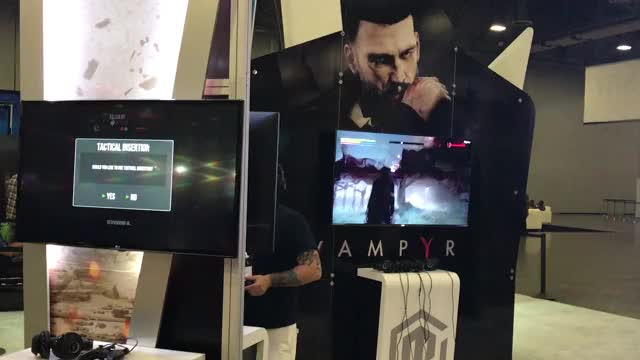 Watch this GIF on Gfycat. Discover more gamestop, gamestop expo, vampyr GIFs on Gfycat