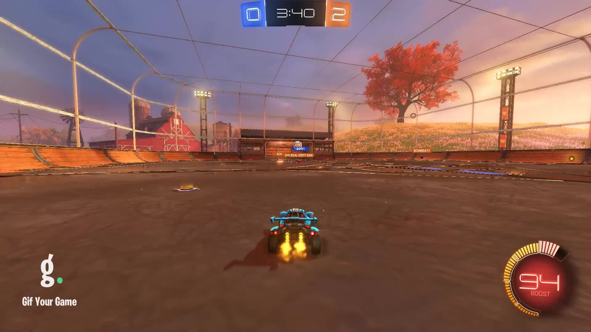 8lb Feather, Gif Your Game, GifYourGame, Goal, Rocket League, RocketLeague, Goal 3: 8lb Feather GIFs